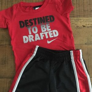 Nike Baby Outfit, shirt and Shorts